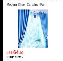Modern Sheer Curtains(Pair)