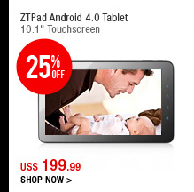 ZTPad Android 4.0 Tablet