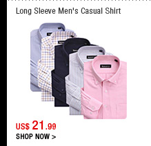 Long Sleeve Men's Casual Shirt