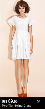 Two-Tier Swing Dress