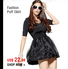 Fashion Puff Skirt