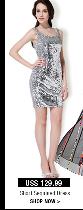 Short Sequined Dress