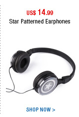 Star Patterned Earphones