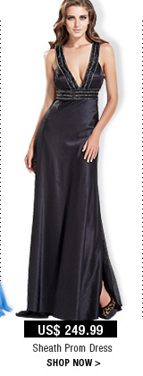 Sheath Prom Dress