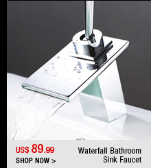Waterfall Bathroom Sink Faucet