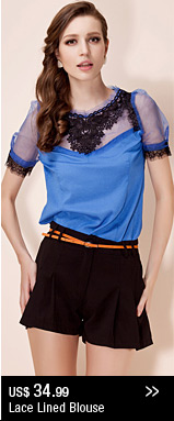 Lace Lined Blouse