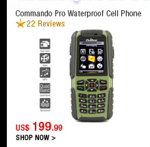 Commando Pro Waterproof Cell Phone