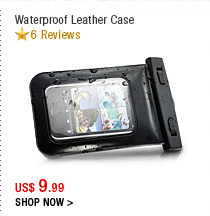 Waterproof Leather Case
