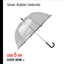 Sheer Bubble Umbrella
