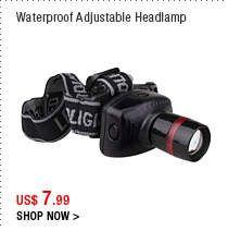 Waterproof Adjustable Headlamp