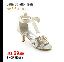 Satin Stiletto Heels
