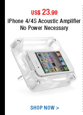 iPhone 4/4S Acoustic Amplifier