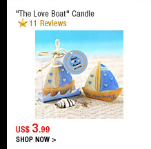 """The Love Boat"" Candle"