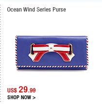 Ocean Wind Series Purse