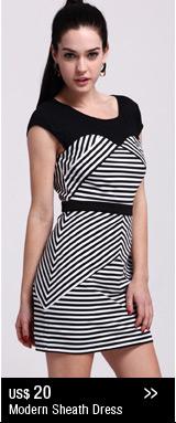 Modern Sheath Dress