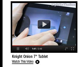 """Knight Onion 7"""" Tablet"""