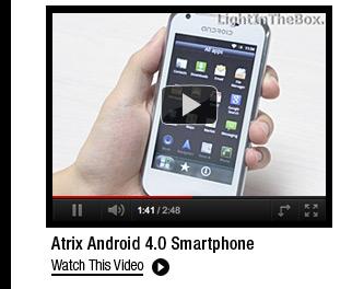 Atrix Android 4.0 Smartphone