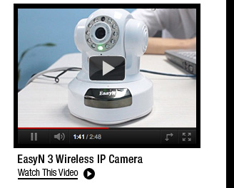 EasyN 3 Wireless IP Camera