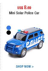 Mini Solar Police Car
