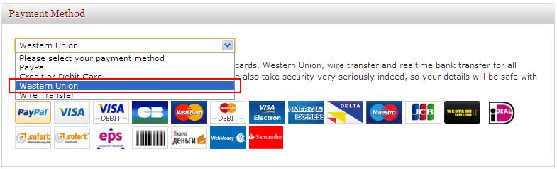 Resultado de imagem para payment western union