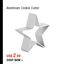 Aluminum Cookie Cutter