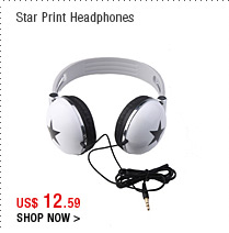 Star Print Headphones