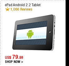 ePad Android 2.2 Tablet