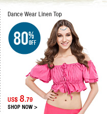 Dance Wear Linen Top