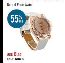 Round Face Watch