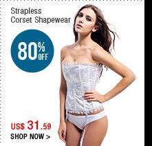 Strapless Corset Shapewear