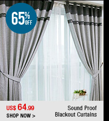 Sound Proof Blackout Curtains