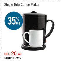 Single Drip Coffee Maker