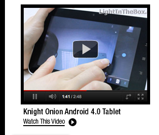 Knight Onion Android 4.0 Tablet