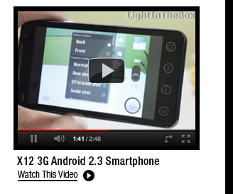 X12 3G Android 2.3 Smartphone