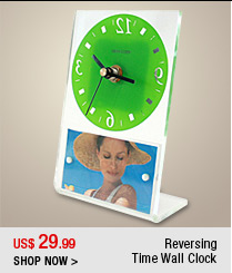 Reversing Time Wall Clock