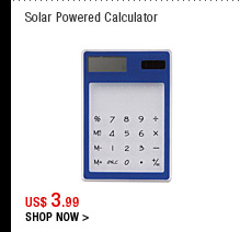 Solar Powered Calculator