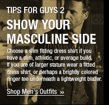 Show Your Masculine Side