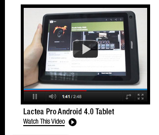 Lactea Pro Android 4.0 Tablet