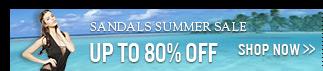 SANDALS Summer Sale