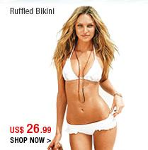 Ruffled Bikini