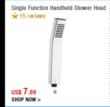 Single Function Handheld Shower Head