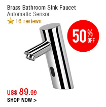 Sink Faucet with Automatic Sensor