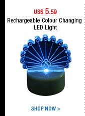 Rechargeable Colour Changing LED Light
