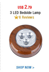 3 LED Bedside Lamp