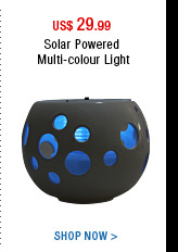 Solar Powered Multi-colour Light