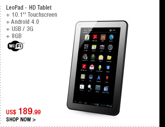 LeoPad - HD Tablet