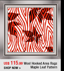 Wool Hooked Area Rugs