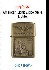 American Spirit Zippo Style Lighter