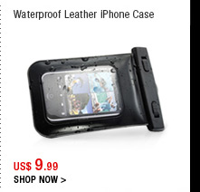 Waterproof Leather iPhone Case