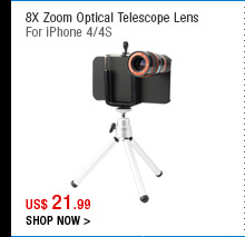 8X Zoom Optical Telescope Lens